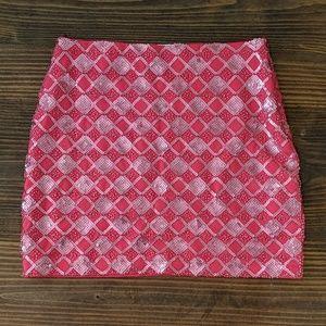 Miami Sequin Mini Skirt